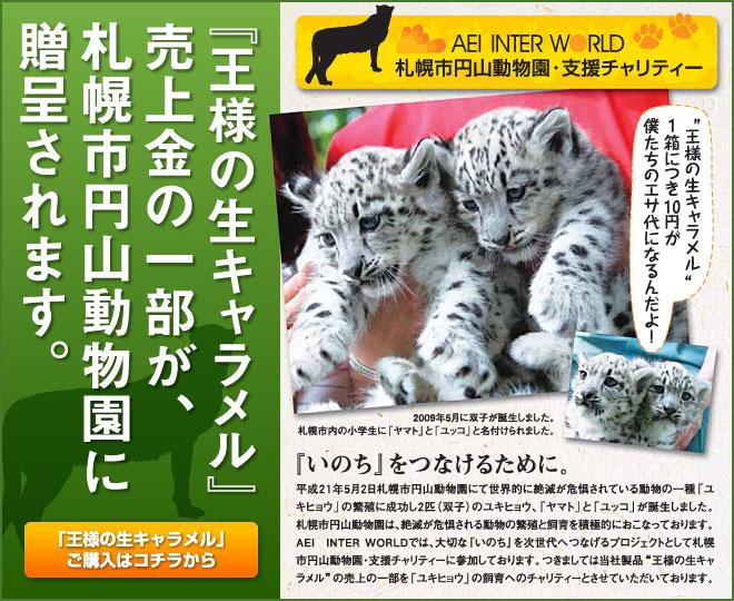 円山動物園 ユキヒョウ チャリティー